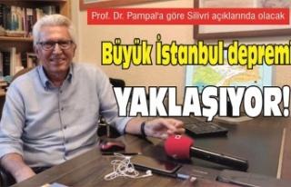 Prof. Dr. Pampal'a göre Silivri açıklarında...