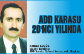 ADD KARASU 20'NCİ YILINDA
