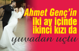Ahmet Genç kızı Revze'yi evlendirdi