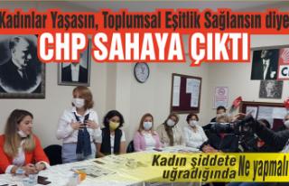 CHP, insan hakları için sahaya çıktı