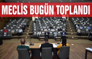 Meclis toplandı, 17 madde karara bağlandı