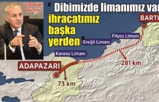 SATSO Başkanı Altuğ: 'Dibimizde liman var ihracatı...