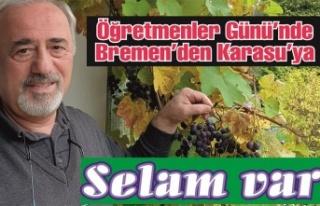 Bremen'den Karasu'ya sevgilerle...