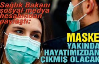 Sağlık Bakanı: Maske yakın zamanda hayatımızdan...