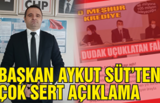 CHP'li başkandan sert açıklama