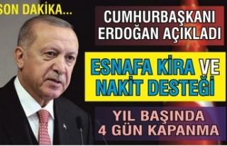 Cumhurbaşkanı Erdoğan açıkladı! Yılbaşında...