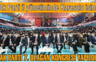 İşte AKP'nin yeni yönetim listesi: Karasulu...
