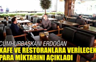 Restoran, lokanta ve kafelere destek ödemesi yapılacak