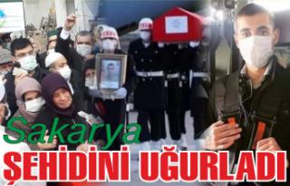 Sakarya, şehidi Selim Gedik'i son yolculuğuna...