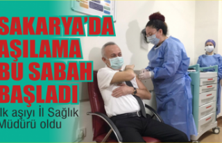 Sakarya'da ilk Korona virüs aşıları yapılmaya...