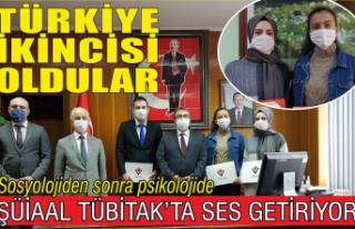 TÜBİTAK Türkiye ikincileri Karasu'yu gururlandırdı