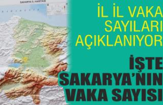 Bakan Koca Sakarya'nın vaka sayısını açıkladı