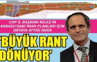 CHP İl Başkanı Keleş'ten Karasu'daki...