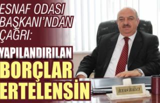 Esnaf Odası Başkanı Balcı: Durumda değişen bir...