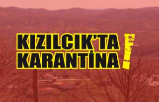 Kızılcık'ta karantina!