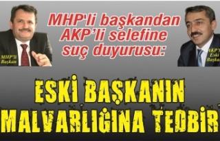 MHP'li başkandan AKP'li selefine suç duyurusu:...