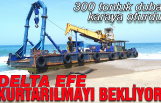 300 tonluk duba ''Delta Efe''...