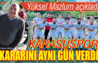 Karasuspor Türkiye'de 266 takımın düşündüğü...