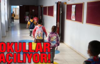Okullar açılıyor: İşte detaylar!