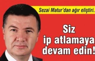 Sezai Matur'dan eğitim yöneticilerine ağır eleştiri:...