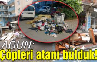 Ağun; 'Çöpleri atanı tespit ederek cezai...