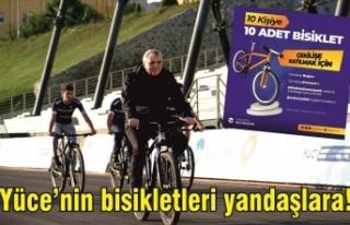 Bisiklet piyangosu tanıdıklara çıktı!