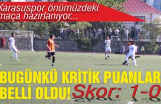 Cezalar yarın açıklanacak: Karasuspor Hendek'le...