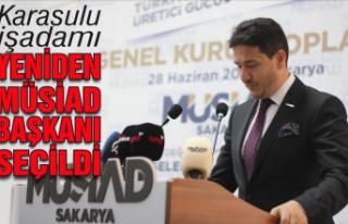 Filizfidanoğlu yeniden MÜSİAD başkanı