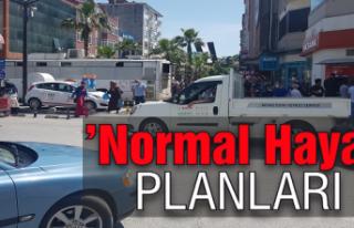 'Normal hayat' planları...