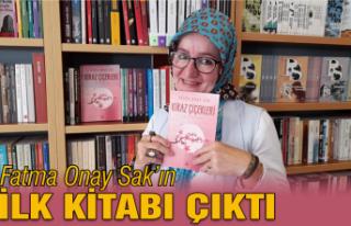 Fatma Onay Sak'ın ilk kitabı çıktı: Kiraz çiçekleri