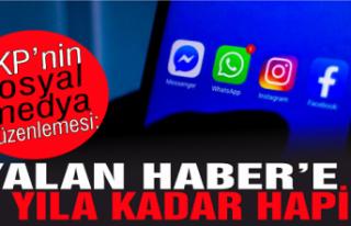 AKP'nin sosyal medya düzenlemesi: 'Yalan...