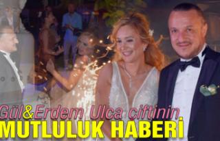 Gül&Erdem Ulca çiftinin mutluluk haberi...