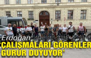 Erdoğan: Çalışmaları görenler gurur duyuyor