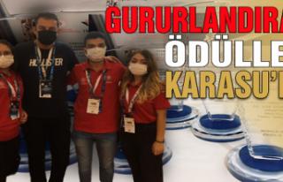 Gururlandıran ödüller Ankara'dan Karasu'ya...