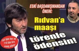 Erdoğan'ın eski başdanışmanı yazdı: 'Rıdvan'a...