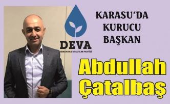 DEVA Karasu'da başkanını buldu