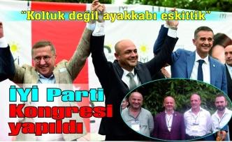 İYİ Parti Kongresi yapıldı... Selçuk Kılıçaslan güven tazeledi
