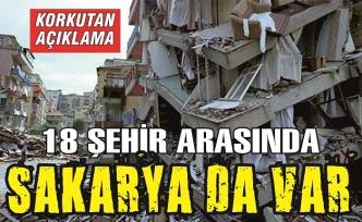 Korkutan açıklama: Türkiye'de 18 şehir, 80'den fazla ilçe tehlikede