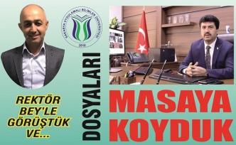 """Deva Partisi İlçe Başkanı Çatalbaş: """"Karasu kampüsü istiyor"""""""