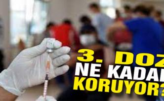 Üçüncü doz ne kadar koruyor?