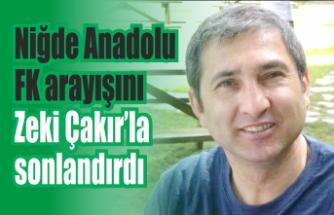Niğde Anadolu FK teknik adamını Karasu'dan buldu