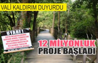 12 milyonluk proje başladı