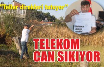 Telekom can sıkıyor