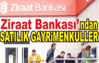 Ziraat Bankası'ndansatılık gayrimenkuller