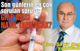 Grip aşısı nasıl yapılacak?