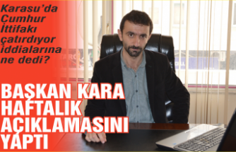 MHP Başkanı Münür Ali Kara basın açıklamasını yaptı