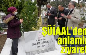 Şehit Üsteğmen İbrahim Abanoz Anadolu Liselilerdenanlamlı ziyaret