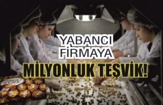 Yabancı firmaya 667 milyon lira teşvik