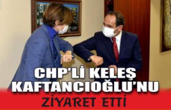 CHP'li Keleş Kaftancıoğlu'nu ziyaret etti