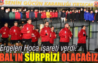 Ergelen Hoca işareti verdi:  'BAL'ın sürpriz takımı olacağız'